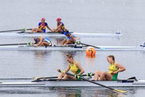 Irkluotojoms – 4-oji vieta ir bilietas į jaunimo olimpines žaidynes