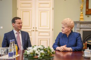 D. Grybauskaitė: Lietuva ir Lenkija kartu sieks ES paramos