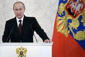 V. Putinas: Ukrainos įsiskolinimas gali turėti įtakos gamtinių dujų tranzitui