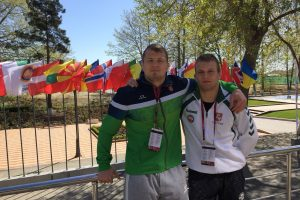 Europos imtynių čempionate – sensacinga A. Mažeikos pergalė