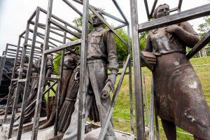 Sovietines Žaliojo tilto skulptūras ketinama nuomoti