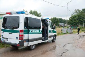 Per reidą Vilniuje pareigūnai sulaikė kelis asmenis su narkotikais