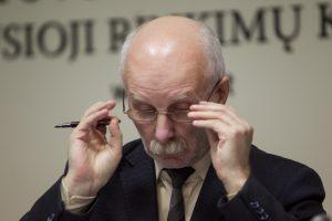 Liaudies partijai vadovaus signataras R. Paulauskas