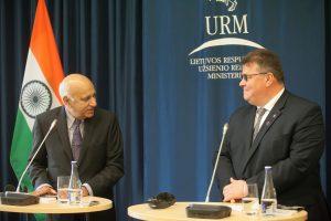 Indija svarsto atidaryti ambasadą Lietuvoje