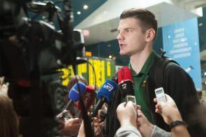 """""""Lietuvos rytą"""" palikęs A. Gudaitis debiutavo Milano komandos gretose"""