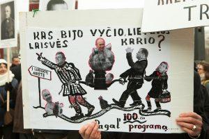 R. Karbauskis apie Vyčio įstatymą: nereikia skubėti daryti išvadų