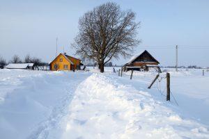 Orai: iš sniego pusnių teliks upeliai