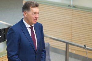 A. Butkevičius kritikuoja socialdemokratų siūlomus progresinius mokesčius