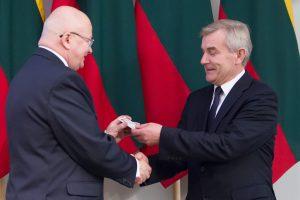 Seimo pirmininkas išsirinko pamainą Z. Vaigauskui
