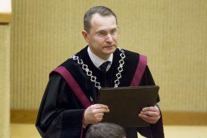 Konstitucinio Teismo pirmininkas ragina įvesti individualų skundą