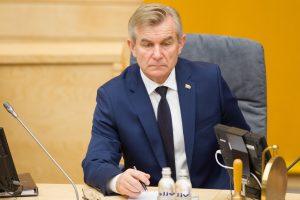 V. Pranckietis siūlo keisti Seimo sesijų laiką