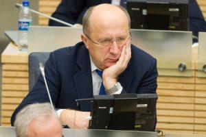 Siūloma tirti A. Kubiliaus Vyriausybės skolinimosi politiką