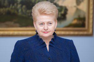 D. Grybauskaitė: Lenkijos žinia dėl Astravo AE mums svarbi