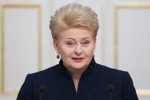 """D. Grybauskaitė su ES vadovais ketina patvirtinti """"Brexit"""" derybų gaires"""