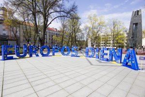 Europos dieną kviečia švęsti daugiau nei 40 Lietuvos miestų