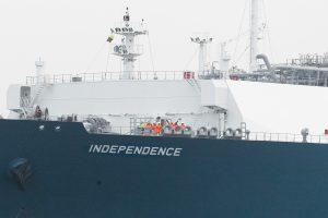 Diskusija dėl SGD laivo: pirkti ar toliau nuomotis?