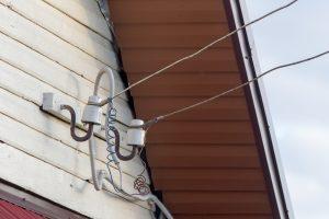 Dėl elektros tinklų gedimo be elektros buvo likusi dalis Šilutės