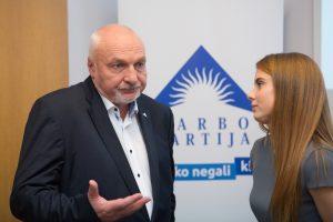 V. Mazuronis ir R. Paksas traukiasi iš partijų pirmininkų pareigų
