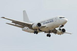 """Estijos oro bendrovė """"Estonian Air"""" nutraukia skrydžius"""