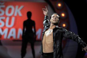 Garsiajam šokėjui A. Kandeliui – vėl nemalonumai