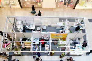 Prekybos centruose bręsta naujovės