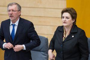 G. Kirkilas pritaria L. Graužinienei: D. Barakausko vietoje atsistatydintų