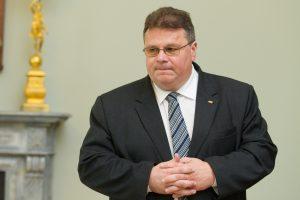 L. Linkevičius Briuselyje dalyvaus Užsienio reikalų tarybos posėdyje