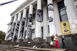 Buvusiais Profsąjungų rūmais Vilniuje domisi Azerbaidžano verslininkai