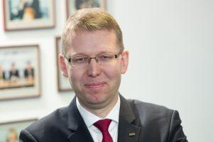 """A. Ignatavičius palieka """"Vilniaus vandenis"""""""