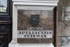 Vienbalsiai pritarta naujų teisėjų kandidatūroms į Apeliacinį teismą