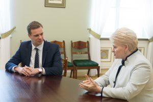 "G. Landsbergis: prezidentė pasidavė ""valstiečių"" šantažui"