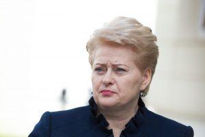 D. Grybauskaitė susitks su JAV verslo tarybos nariais