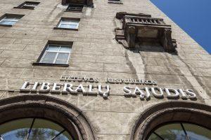 Liberalų sąjūdis atsisako centrinės būstinės Vilniuje