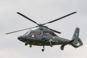 Kariuomenės sraigtasparnis transportavo sunegalavusį kelto keleivį