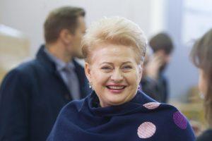 Prezidentė D. Grybauskaitė švenčia gimtadienį