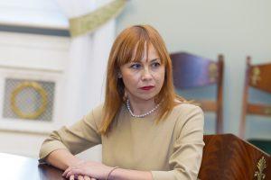 Ministrė turi priekaištų rektoriams
