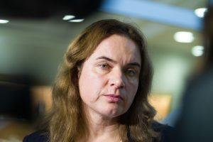 Teisingumo ministrė pažėrė kritikos Registrų centrui