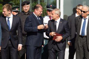 Seimo pirmininkas: koalicija dirba stabiliai ir nuosekliai