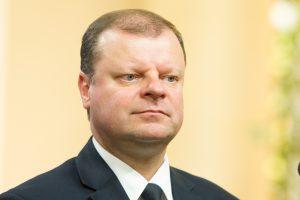Premjeras kitą savaitę teiks kandidatą į teisingumo ministrus