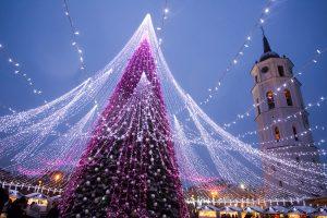 Turistai negailėjo komplimentų sostinės kalėdinei programai