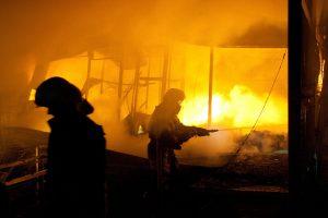 Vilniaus rajone per gaisrą sudegė moteris