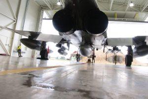 Praėjusi savaitė NATO naikintuvams Baltijos šalyse buvo rami