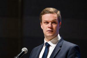 G. Landsbergio mandatas parlamente panaikintas, jį keičia L. Andrikienė