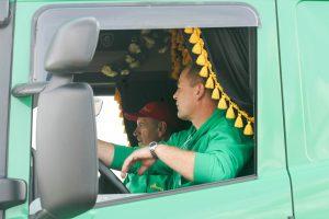 Pradedama diskusija dėl vairuotojų darbo sąlygų taisyklių keitimo