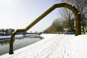 V. Urbanavičiaus skulptūrai Vilniuje ketinama pritaikyti Neries krantinę