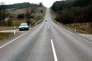 Pavojingiausi keliai – jau su atnaujintomis ištisinėmis linijomis (išskyrus Uteną)