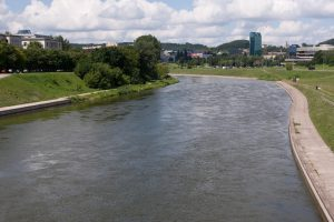 Vilniuje Neries upėje rastas skenduolis