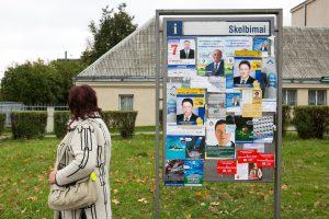 KT vertins dotacijų partijoms skyrimo tvarką rinkimų metais