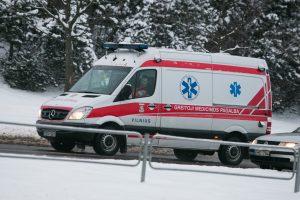 Avarijoje netoli Trakų sužalotas vairuotojas
