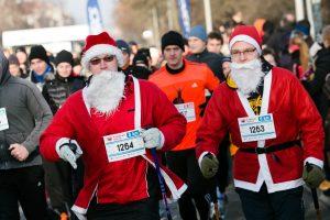 Kalėdų seneliai ir Snieguolės savaitgalį užtvindys Vilniaus gatves